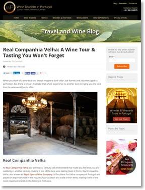 Blog Travel and Wine