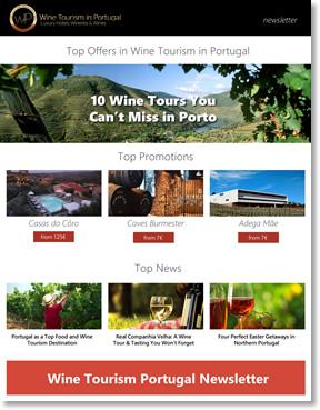 Newsletter WineTourismPortugal